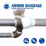 Nastro dell'involucro del tubo dell'epossidico della fasciatura di riparazione del tubo della fibra attivato acqua Emergency