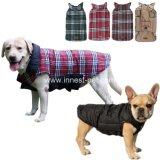 Vestiti caldi del cane del cotone della grata dell'abito dell'animale domestico di inverno grandi