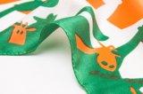 Écharpe de soie de modèle de fleur de mode