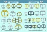鉄メタルピンのベルトの留め金の袋のための小さいローラーのバックル