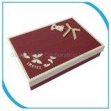 Vakje van de Grootte van de Douane van het karton het Verpakkende, het Vakje van de Gift van het Document voor de Juwelen van de Vertoning