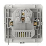 Выход EU гнезда силы 16A стены стандартный с 2A удваивает порт заряжателя USB для передвижного белого серебряного цвета золота 3