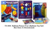 Lustiges Spielzeug der Ballon-Energien-(3 in 1 Ballonspielzeug eingestellt)