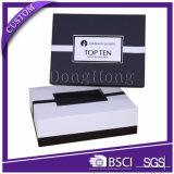 堅い織り目加工のペーパー香水のギフトの包装のクラムシェルボックス
