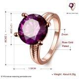 De Kunstmatige Juwelen van de Verlovingsring van de Diamanten bruiloft van het Zirkoon van de manier