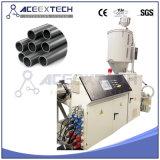 Linha de produção plástica da tubulação da drenagem do HDPE