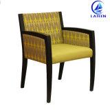 Presidenza del sofà della mobilia dell'ingresso dell'hotel ricoperta blocco per grafici del metallo da vendere