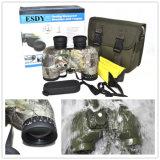 Militaires 10x50 Camo Télescope Jumelles étanches avec télémètre réticule de boussole