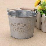 Kreativer Garten-Dekoration-Eisen-Fertigkeit-Pflanzer-Blumen-Großhandelspotentiometer