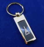 Тесемки металла сувенира оптовых продаж подарок Keychain изготовленный на заказ форменный