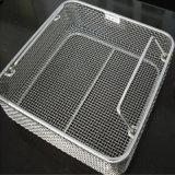 Cesta de la desinfección del filtro de acoplamiento de alambre de acero inoxidable