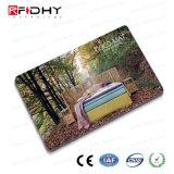 Boleto de papel de Debossing RFID para la gerencia de la calidad de miembro