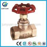 Válvula de parada de cobre amarillo del control de la alta calidad del martillo de parada con la ISO