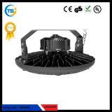 140lm/W Ronda UFO impermeable de alta de la luz de la Bahía de LED para Iluminación industrial
