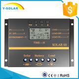 LCD van de Regelgever van het Zonnepaneel 24V/12V 60AMP Last/Dicharge Controlemechanisme S60
