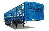 Tri-Axle plana multifunción 30-60 toneladas la pared lateral juego Trailer