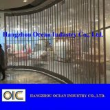 Volets en polycarbonate transparent porte Shopping Mall