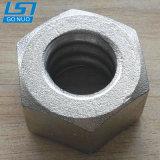 Fixation personnalisé Thread rondes en acier haute résistance de bobine de l'écrou hexagonal