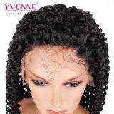 Perruque malaisienne d'avant de lacet d'enroulement de cheveu brésilien de densité de Yvonne 180