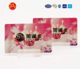 Kundenspezifische RFID Karten-kontaktlose Chipkarte mit Chip Ntag213 215 216 für Förderung