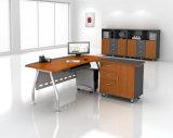 El escritorio de oficina del metal de los muebles de oficinas de encargado basa el escritorio del ejecutivo del MDF