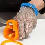 ホックストラップが付いているステンレス鋼の網の手袋