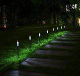 ステンレス鋼の太陽芝生ランプ、LEDの屋外の照明中庭の太陽庭ライト壁ライト