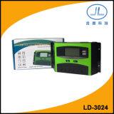 30A 24V LCD Bildschirmanzeige-Sonnenkollektor-intelligenter Batterie-Ladung-Controller