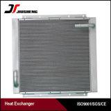 Échangeur de chaleur en aluminium pour des machines de construction pour Hitachi