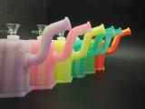 Silikon-Wasser-Rohr-rauchendes Öl-Konzentrat-Glaszubehör-Rohr