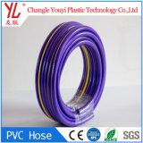 Blando reforzadas de PVC flexible de 1/2 pulgada de agua de la manguera de jardín