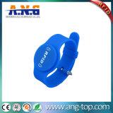Braccialetto passivo registrabile del silicone di NFC RFID