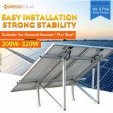 2PCS 태양 전지판을%s 가진 Moregosolar 태양 전지판 부류 설치 시스템
