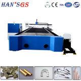 tagliatrice del laser della fibra del acciaio al carbonio del tubo/piatto del metallo di CNC 2000W