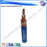 6kv XLPE isolou o cabo distribuidor de corrente blindado fino Sheathed PVC de fio de aço