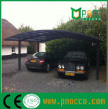 El bastidor de aleación de aluminio de doble techo de policarbonato Marquesinas (163CPT)
