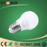 세륨을%s 가진 토치 또는 Ctorch LED 전구 E27 LED 전구 5W