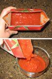 Purè del pomodoro che fa le macchine senza il conservante