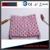 Pista de calefacción de cerámica flexible da alta temperatura de 1050 grados