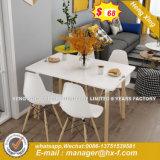現代革気高い金メッキの青銅のLEDによって照らされるダイニングテーブル(HX-8DN017)