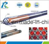 Вакуумная трубка солнечной энергии на трубе с помощью Keymark солнечной энергии