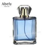高水準の香水の包装のための革によって接続される香水瓶のガラス瓶