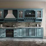 削片板が付いている台所のためのCustomedの適当で贅沢なキャビネット