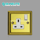Neon를 가진 최신 Selling 45A Switch 13A Wall Switched Socket