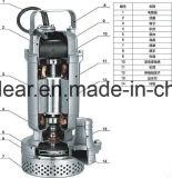 Versenkbare Pumpe für Wasserbehandlung