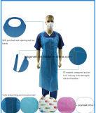 Водонепроницаемый одноразовый экономики пластиковые PE защитный фартук для салон красоты и СПА