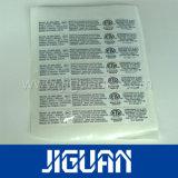 주문 고품질 인쇄된 접착성 공백 계란 쉘 스티커