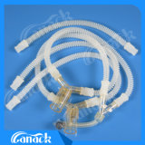 Circuito respiratório médica anestesia reutilizáveis