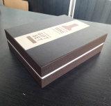 hora de entrega 3 días Papel gris Mayorista de lujo vino de alta calidad caja de embalaje