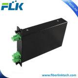 1*2/4/8 Caixa Lgx Fibra Óptica/Cassete Divisor PLC para a rede